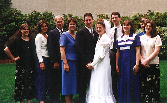 [Miller Family Outside Seattle Temple]