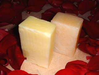 [Lemon Light & Lemongrass Soaps]